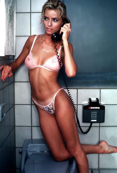 Marianne Gravatte in lingerie - breasts