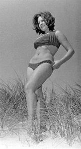 June Palmer in a bikini