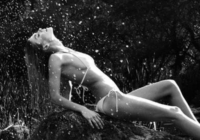 Madelaine Pinkerton in a bikini