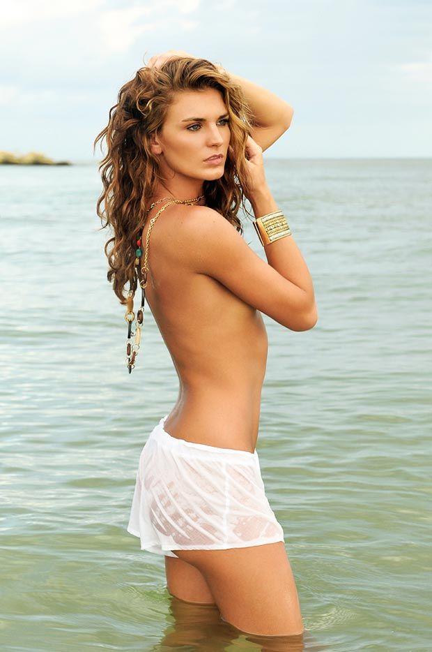 Danielle Lynn King in lingerie