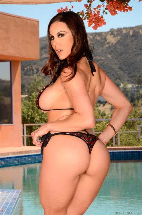 Kendra Lust in a bikini - ass