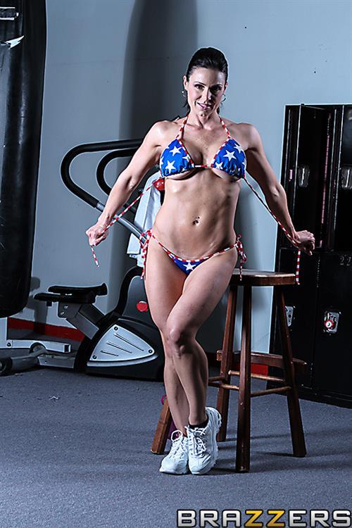 Kendra Lust in a bikini