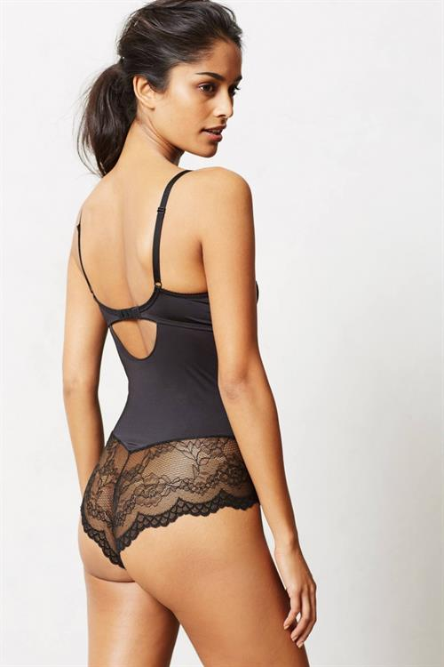 Alyssah Ali in lingerie - ass