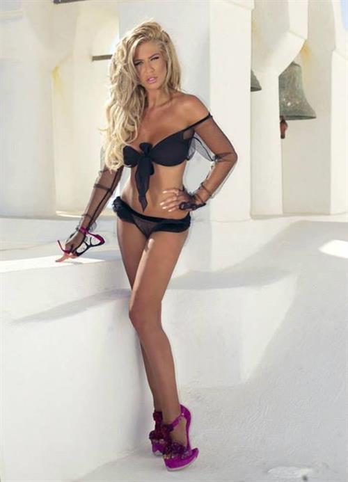 Teodora Andreeva in lingerie