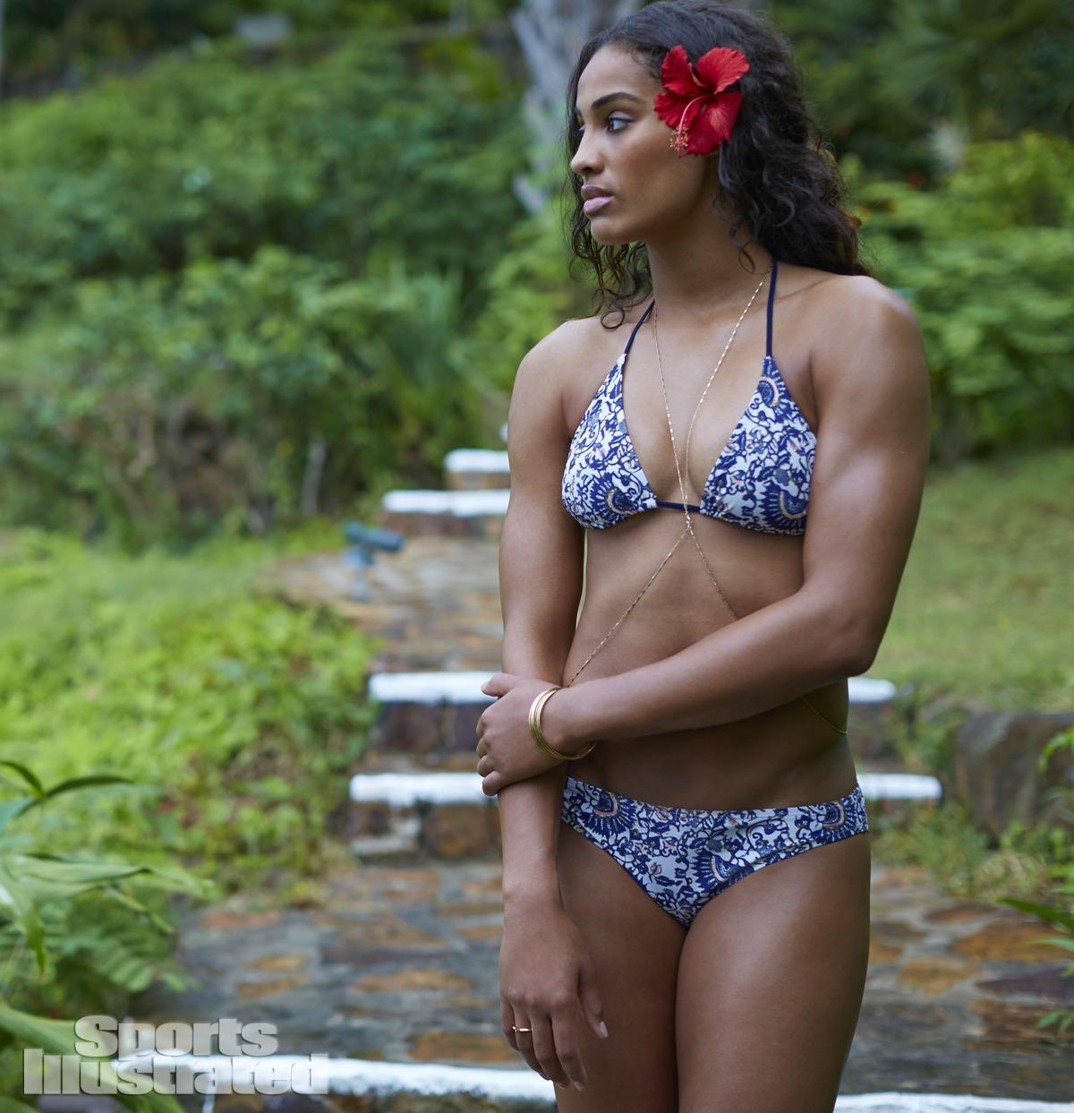 Skylar Diggins in a bikini
