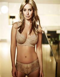 Louise Redknapp in lingerie
