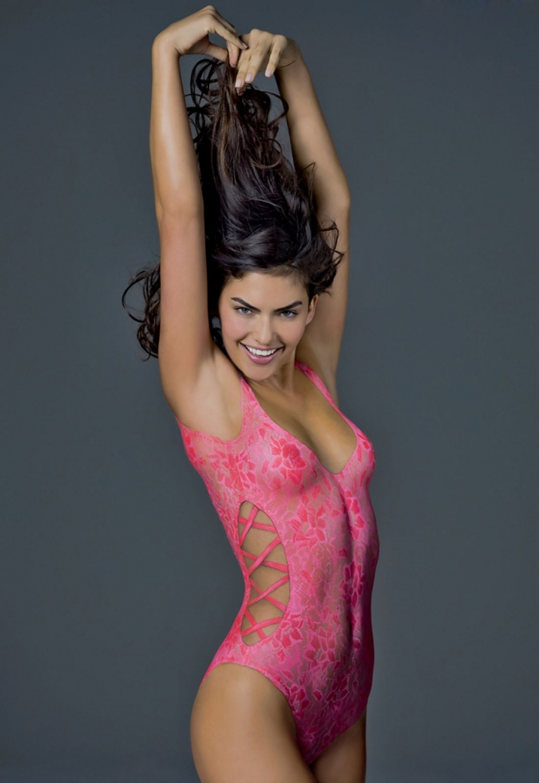 Alyssa Miller in body paint