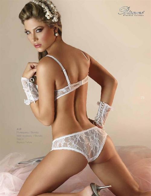 Daniela Tamayo in lingerie - ass