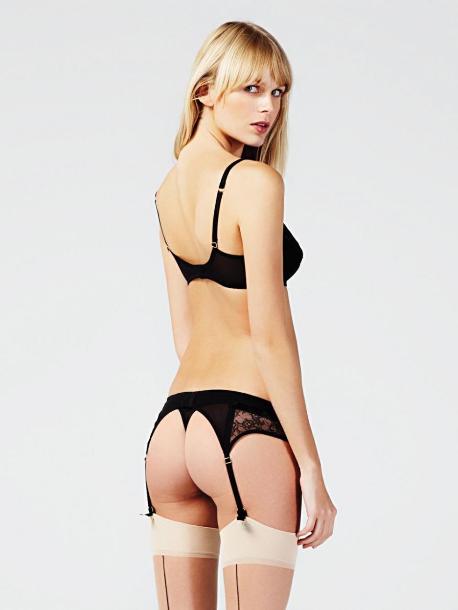 Kate Mahoney in lingerie - ass
