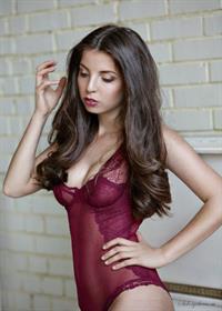 Karina Avakyan in lingerie