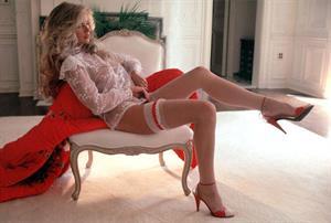 Terri Welles in lingerie