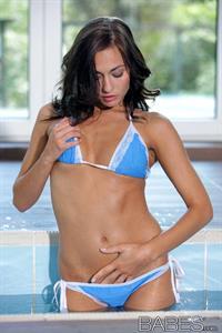 Michaela Isizzu in a bikini