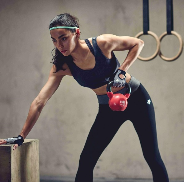 Adrianne Ho fitness work out