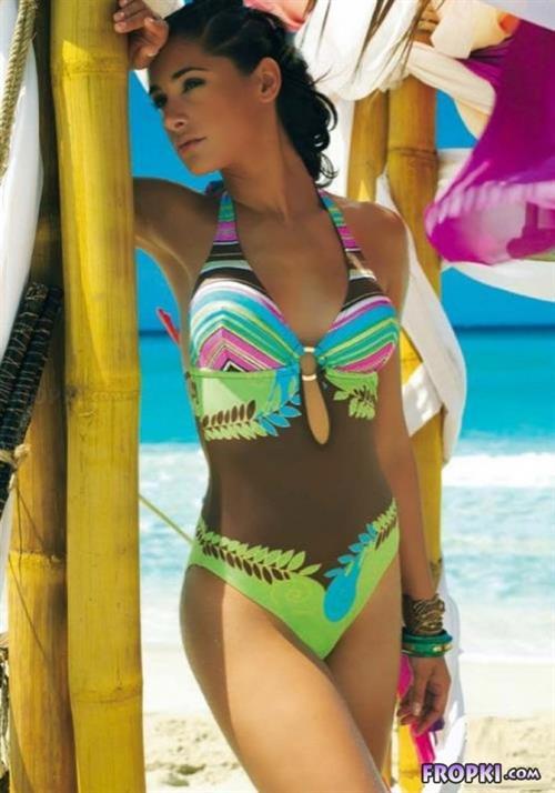 Nargis Fakhri in a bikini