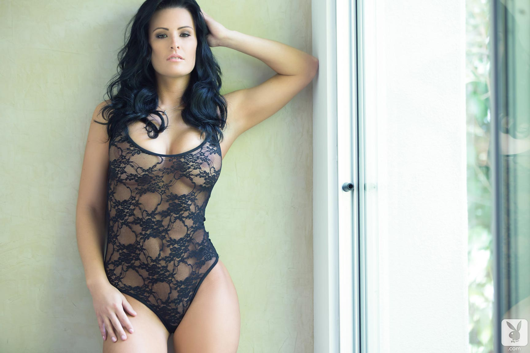Jessie Shannon in lingerie