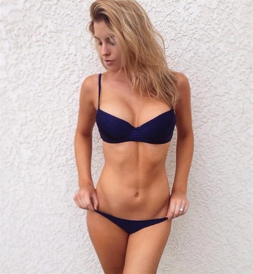 Carly Lauren in a bikini