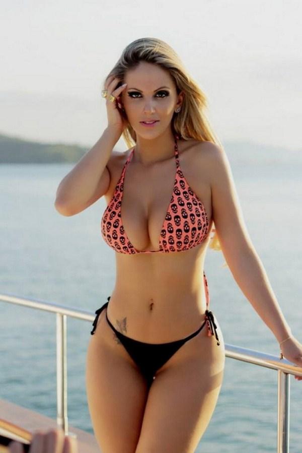 Fernanda Colombo Uliana in a bikini