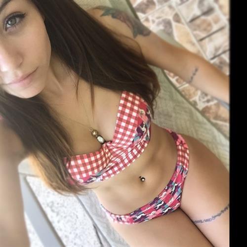 Melanie Pavola in a bikini