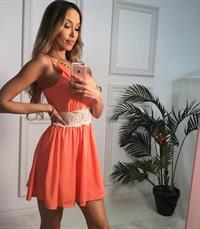 Alexia Cortez taking a selfie