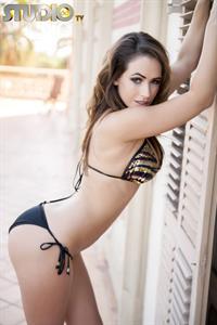 Anastasia Harris in a bikini