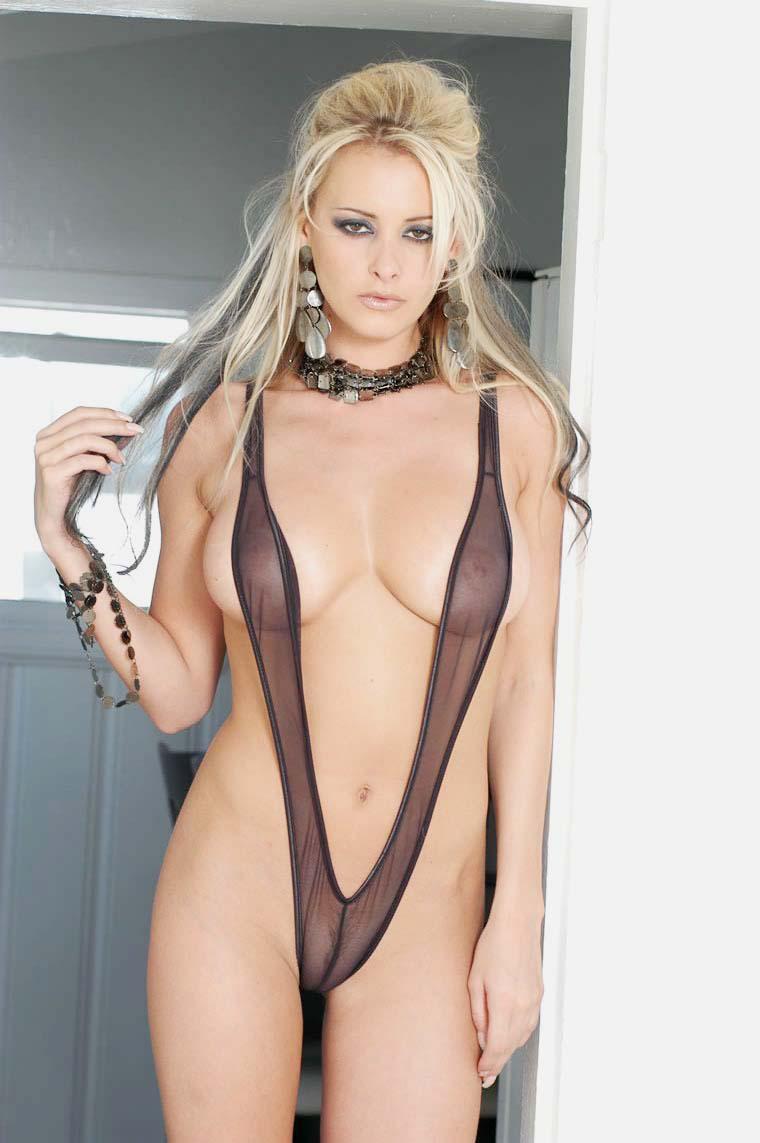 Zdeňka Podkapová in a bikini - breasts