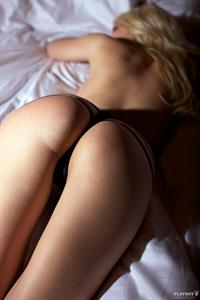 Anna Sophie Repnik in lingerie - ass