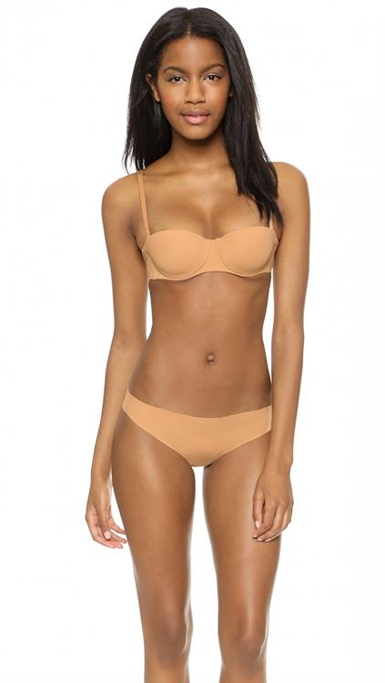 Ebonee Davis in lingerie