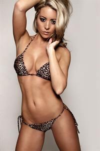 Carly Baker in a bikini