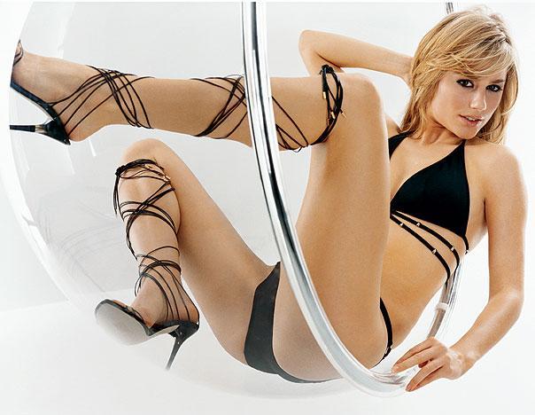 Anine Bing in a bikini