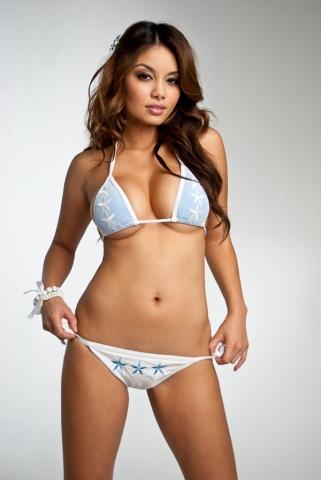 Justene Jaro in a bikini