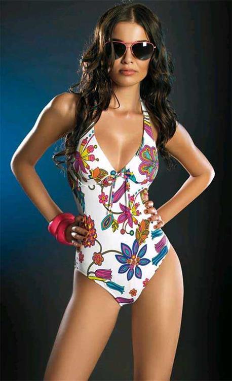Herika Noronha in a bikini