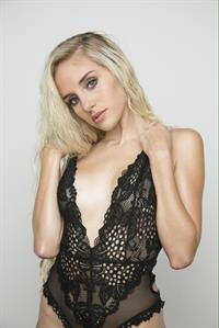Naomi Woods in lingerie