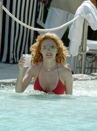 Heather Graham in a bikini
