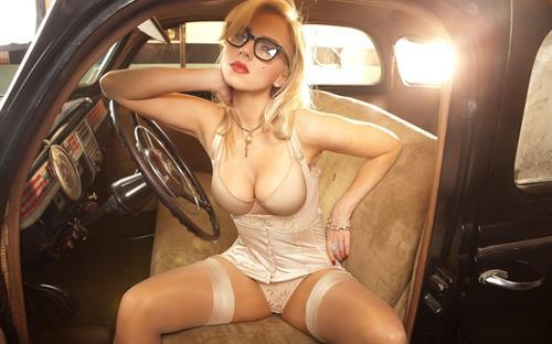 Scarlett Johansson in lingerie