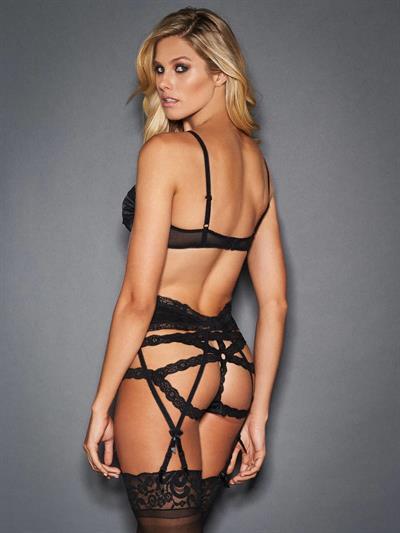 Natalie Jayne Roser in lingerie - ass
