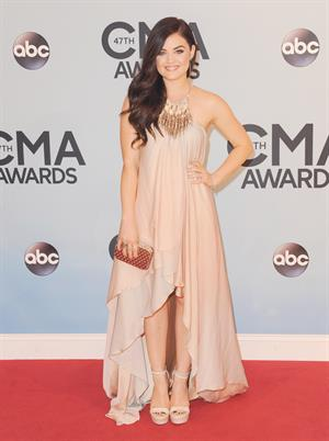 Lucy Hale at the 47th annual CMA Awards