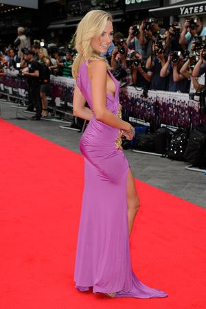 Kimberley Garner at the world premiere of The Expendables 3 on August 4, 2014