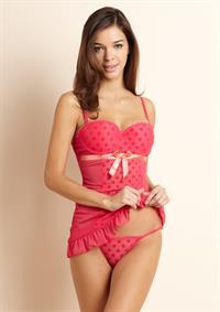 Michelle Salituro in lingerie