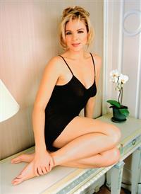 Kim Cattrall in lingerie