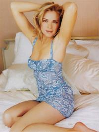 Kim Cattrall in lingerie