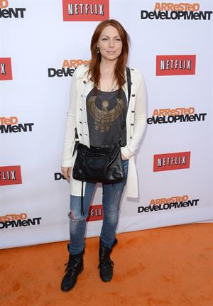 Arrested Development  premiere at the TCL Chinese Theatre, Los Angeles on April 29, 2013