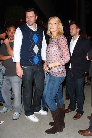 At Trousdale nightclub in L.A. - April 6, 2010
