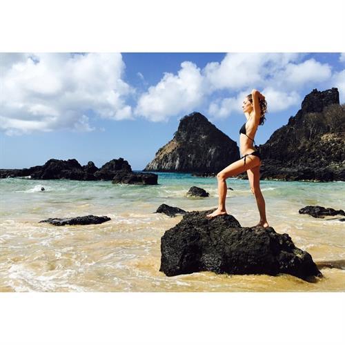 Sofia Sanchez de Betak in a bikini