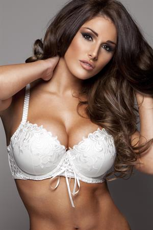 Lucy Pinder Frank White Lingerie Photoshoot 2012