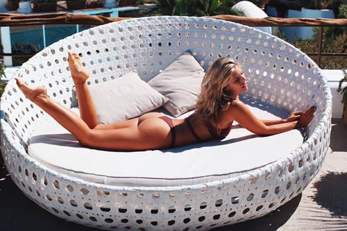 Natasha Oakley in a bikini - ass