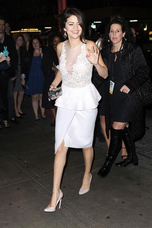 Selena Gomez at the Glamour Women of The Year awards New York November 12, 2012