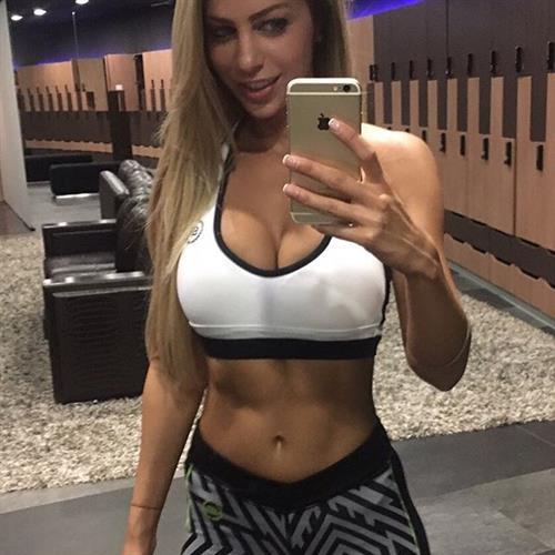 Yanita Yancheva taking a selfie