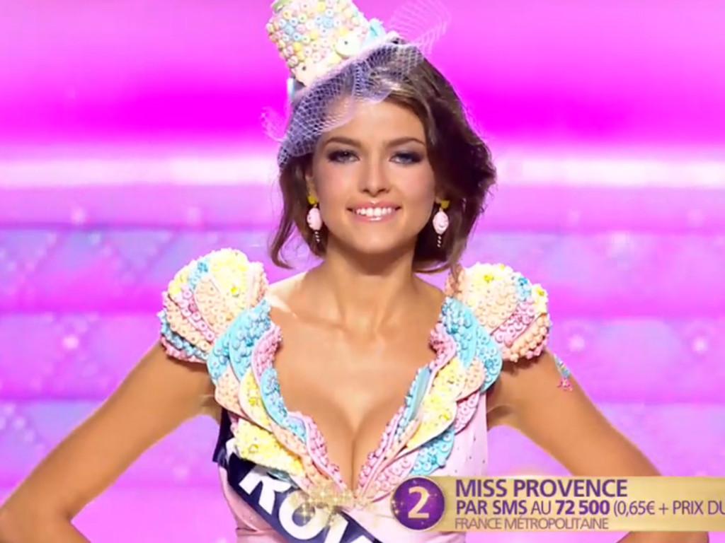 Julia Courtès, French beauty queen and model. 19 yo.