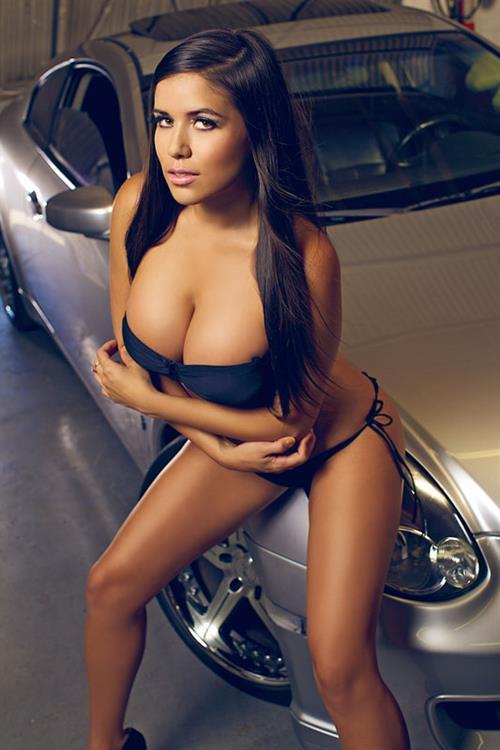 Chantel Zales in a bikini