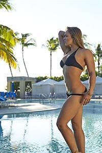 Ronda Rousey in a bikini